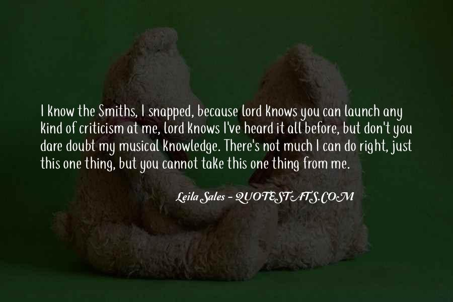 Quotes About The Smiths #199564