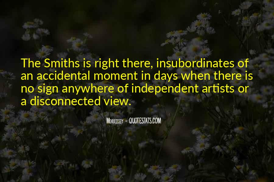 Quotes About The Smiths #624233