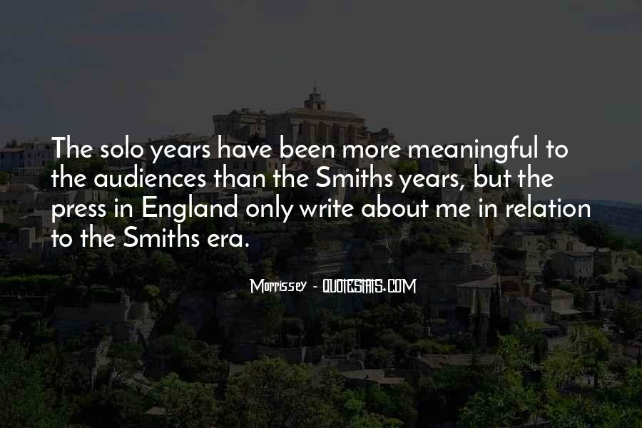 Quotes About The Smiths #915070