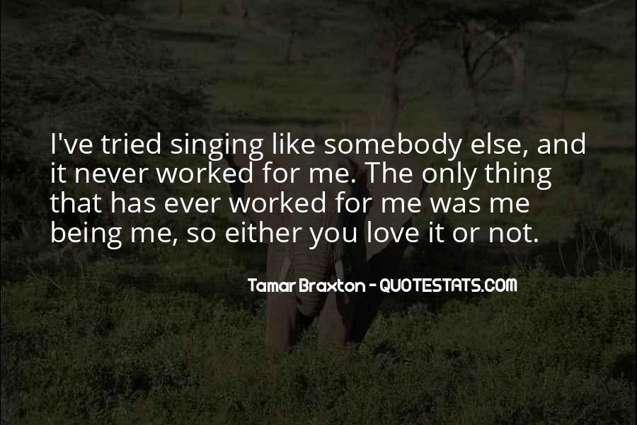 Braxton Quotes #535092