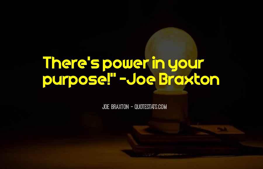 Braxton Quotes #895529