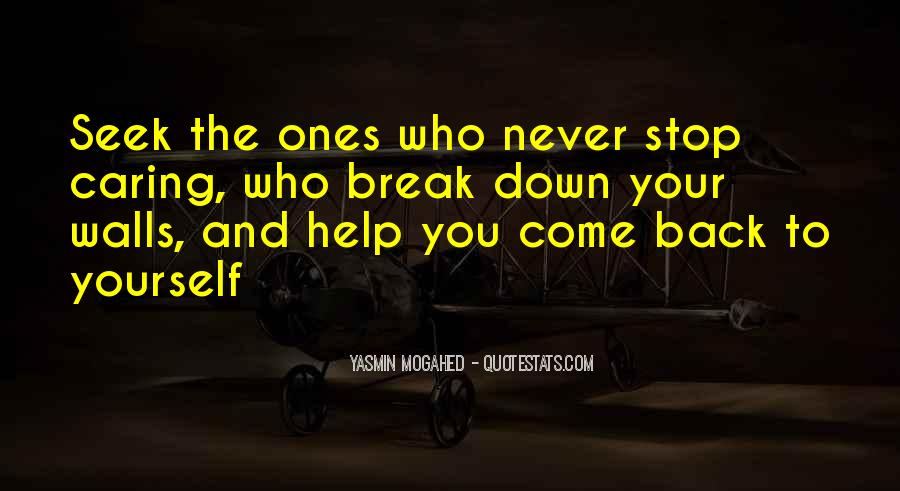 Break Down Your Wall Quotes #1557186
