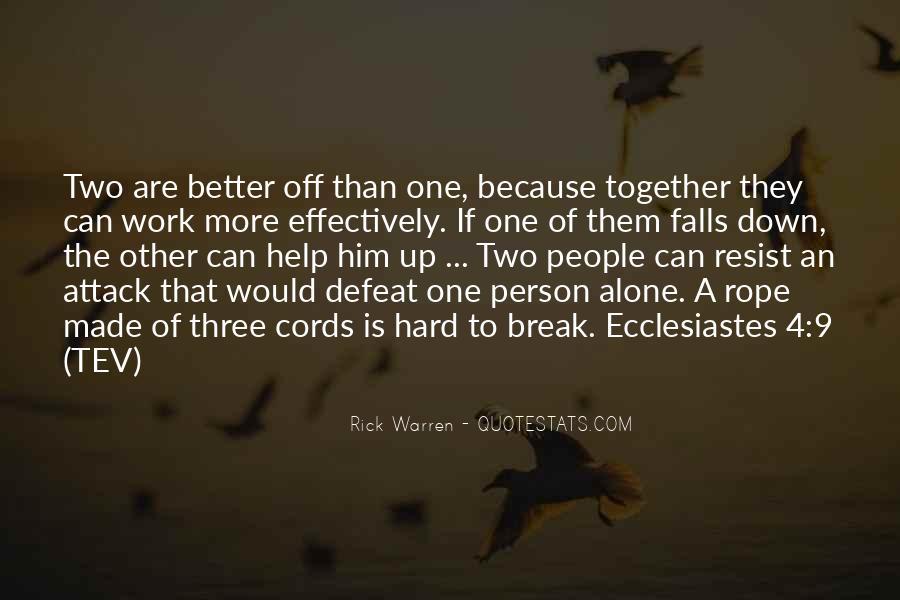 Break Up Better Off Quotes #551329