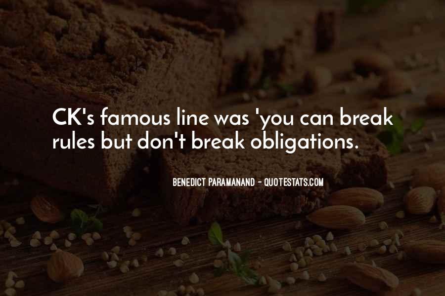 Break Up Line Quotes #1672894