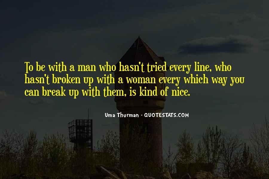 Break Up Line Quotes #960797