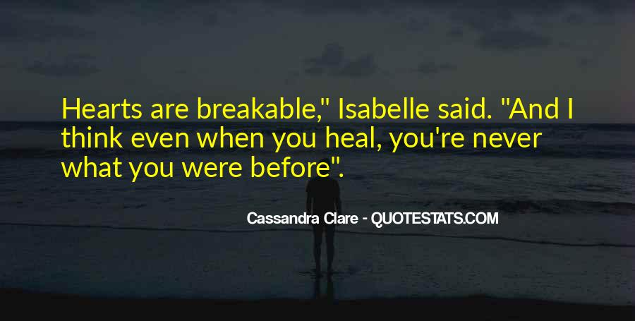 Breakable Love Quotes #1495799