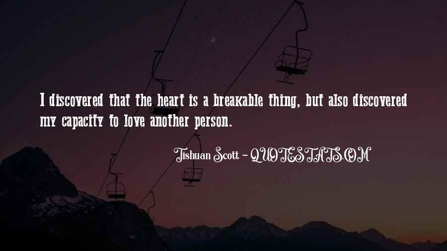 Breakable Love Quotes #1693176