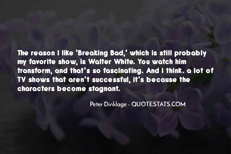 Breaking Bad Walter White Quotes #973241
