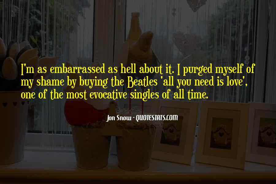 Quotes About Love For Singles #1876859