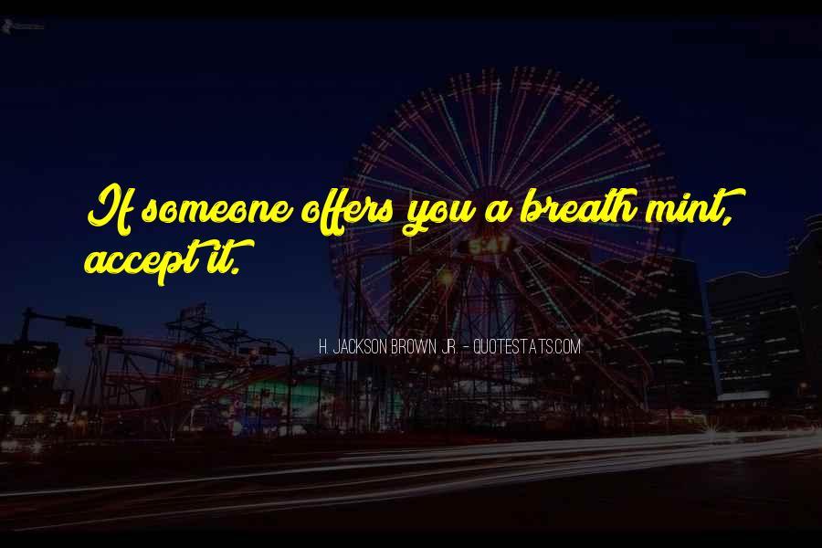 Breath Mint Quotes #1610708