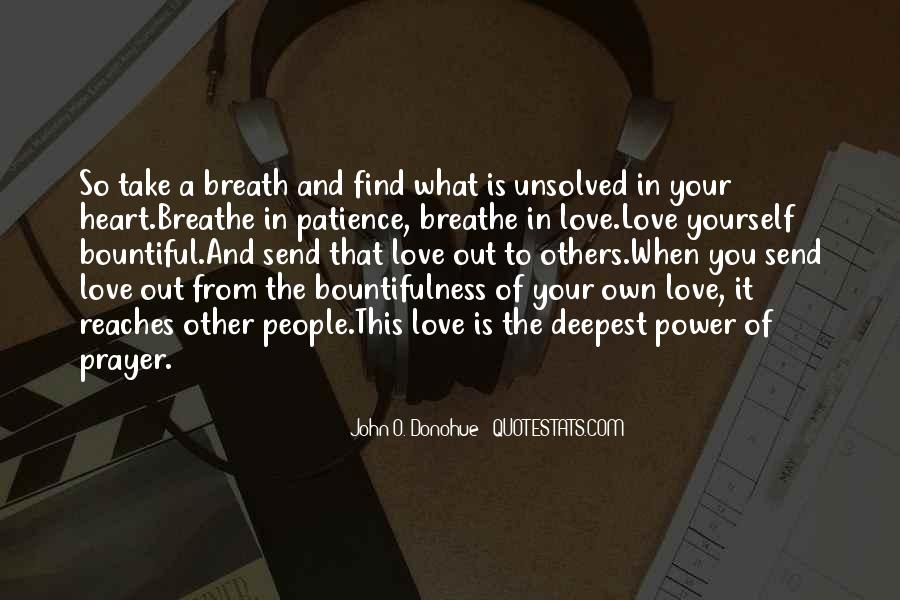 Breathe Out Quotes #597178