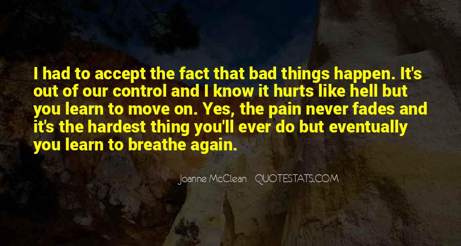 Breathe Out Quotes #778805