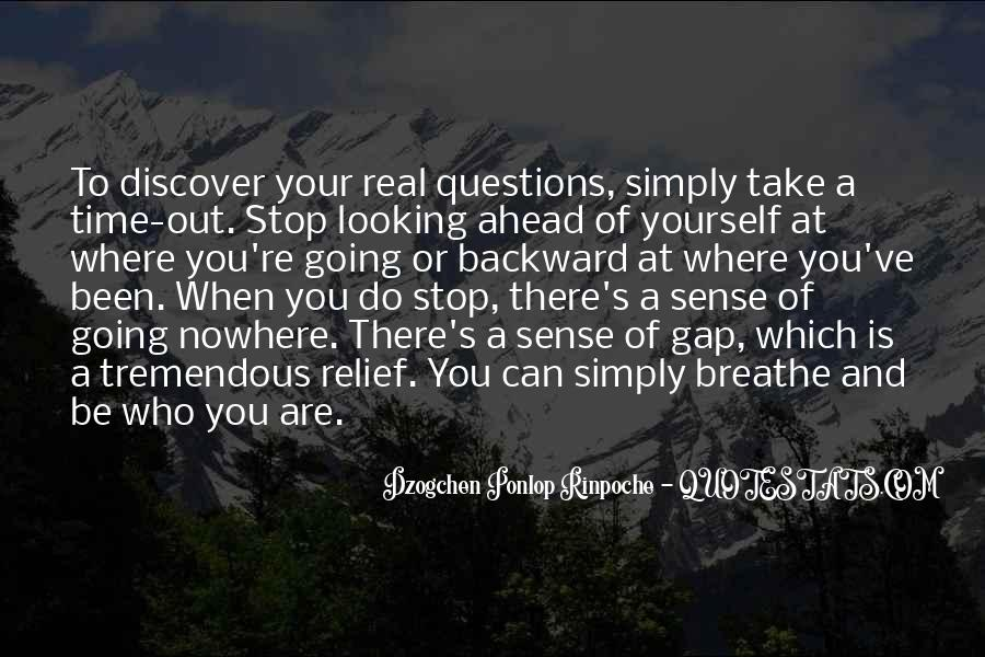 Breathe Out Quotes #7942