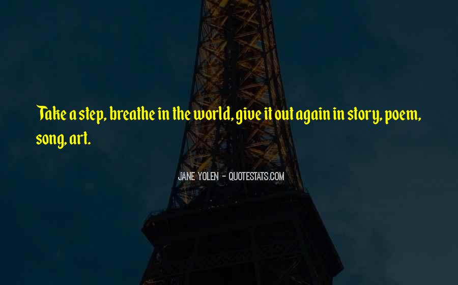 Breathe Out Quotes #829975