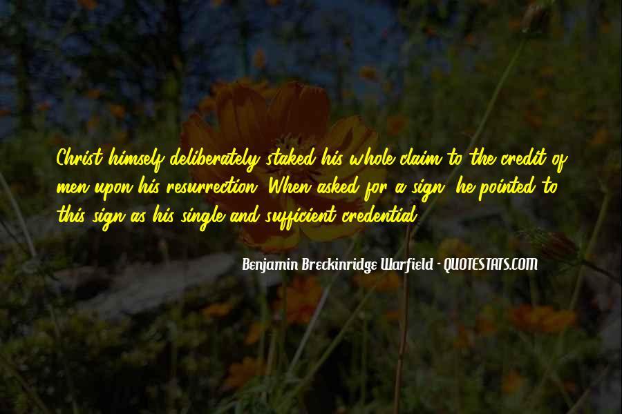 Breckinridge Quotes #1355775