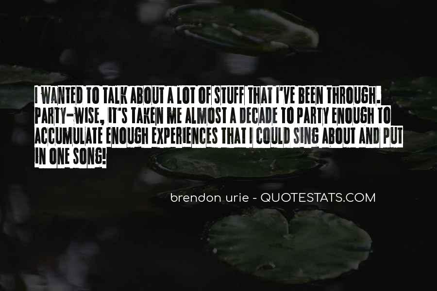 Brendon Quotes #484777