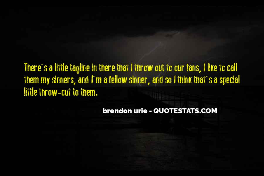 Brendon Quotes #601106