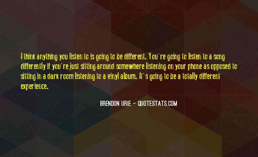 Brendon Quotes #637766