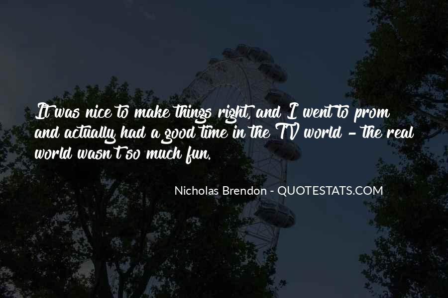 Brendon Quotes #695721
