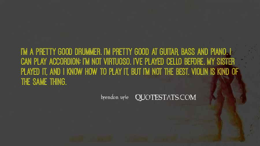 Brendon Quotes #710936