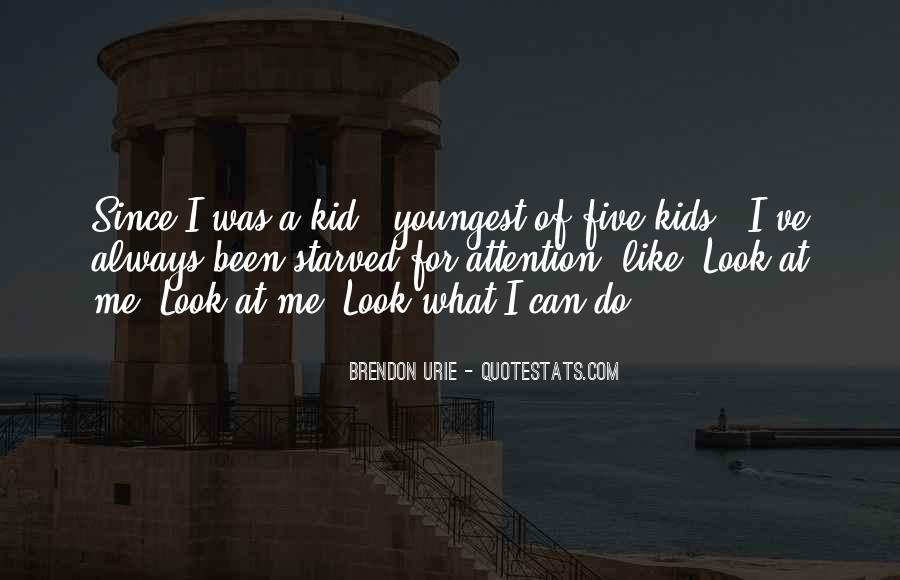 Brendon Quotes #91769