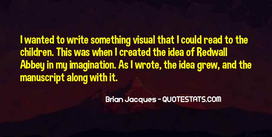 Brian Jacques Redwall Quotes #345258