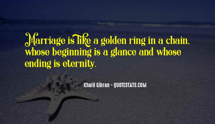 Quotes About Love Ending And Beginning #1863149