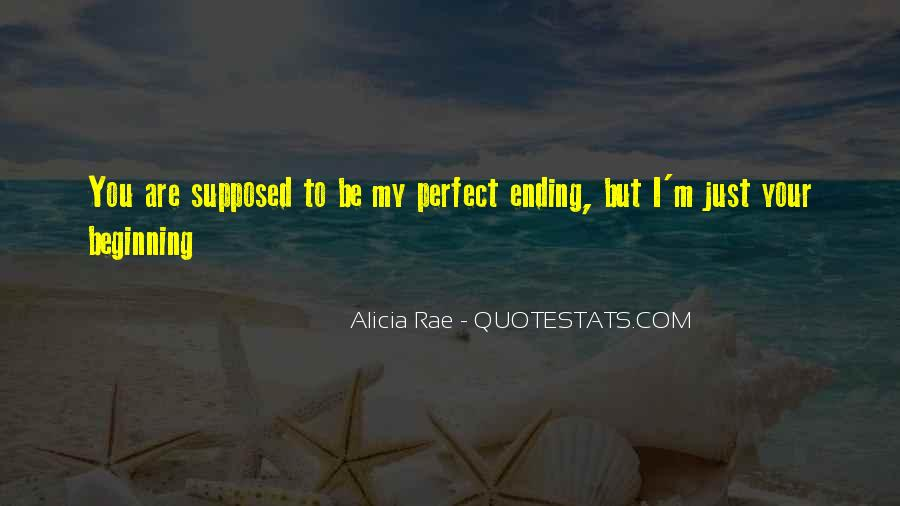 Quotes About Love Ending And Beginning #562001