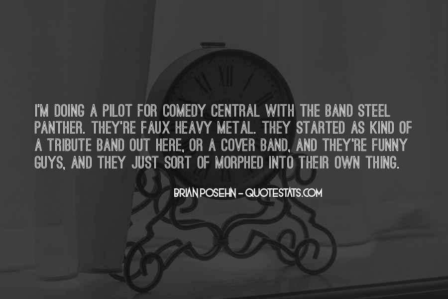 Brian Posehn Funny Quotes #1490156