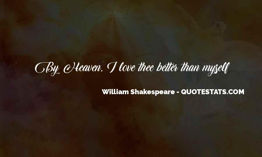 Quotes About Love By Shakespeare #1284450