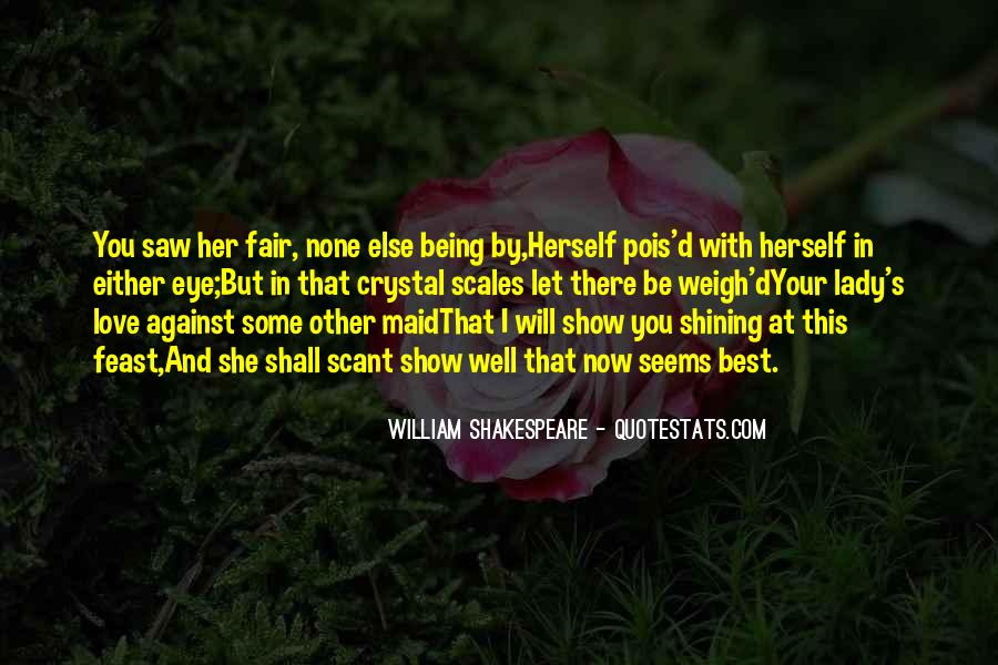 Quotes About Love By Shakespeare #956729