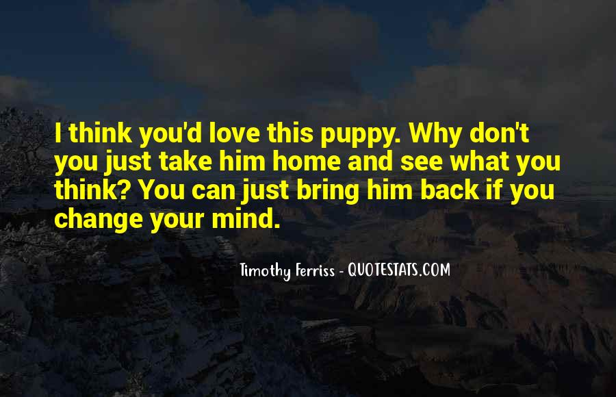 Bring Him Home Quotes #548129