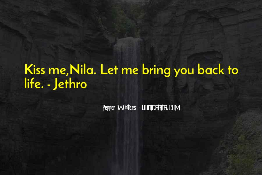 Bring Me Back To Life Quotes #1647828