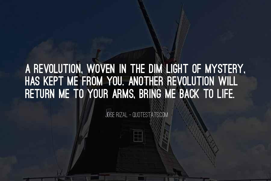 Bring Me Back To Life Quotes #1855669