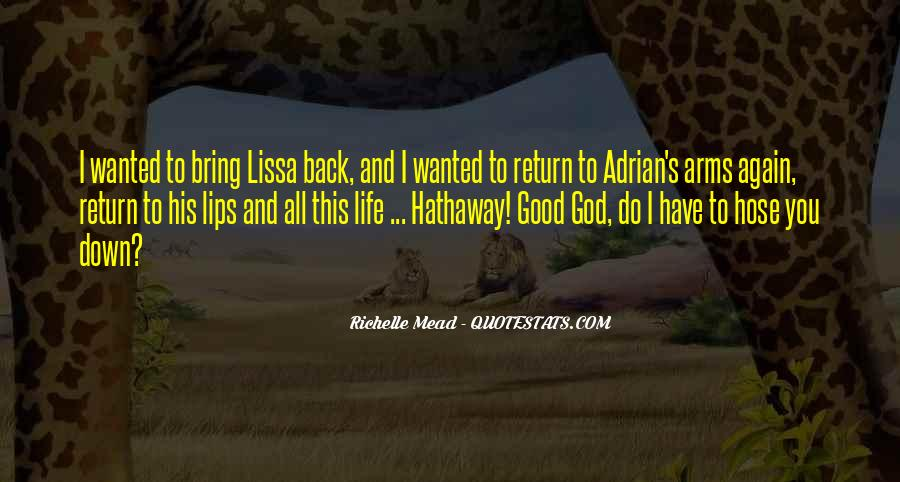 Bring Me Back To Life Quotes #683154
