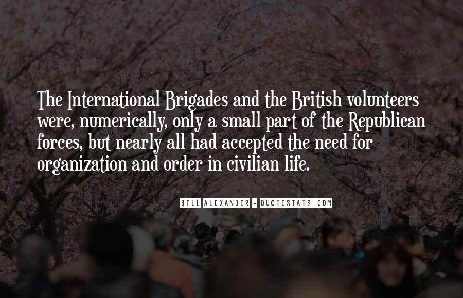 British Forces Quotes #1215406