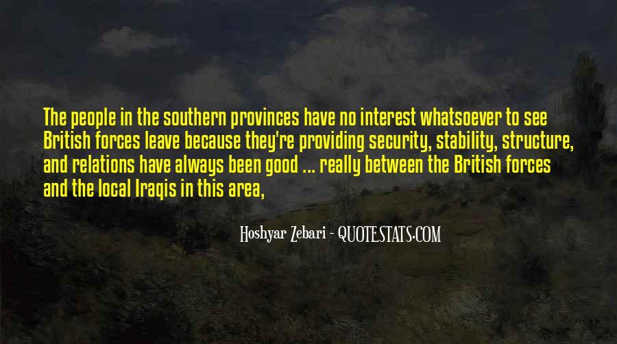 British Forces Quotes #162985