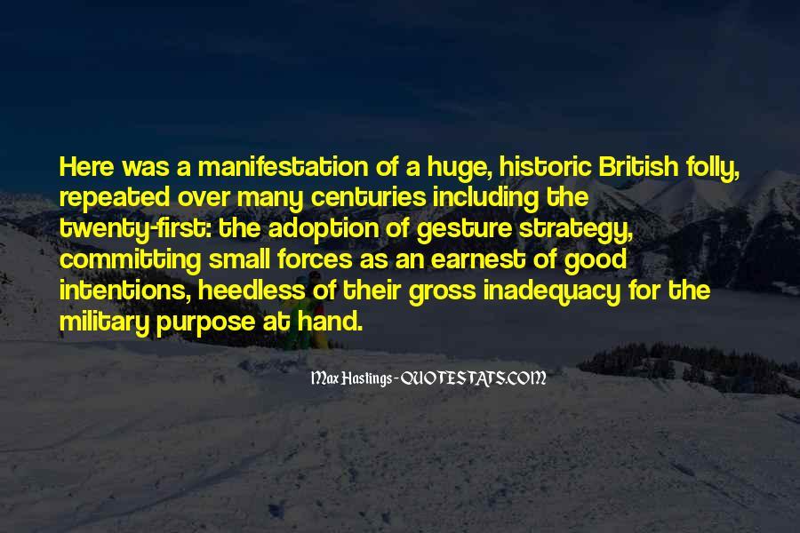 British Forces Quotes #1744101