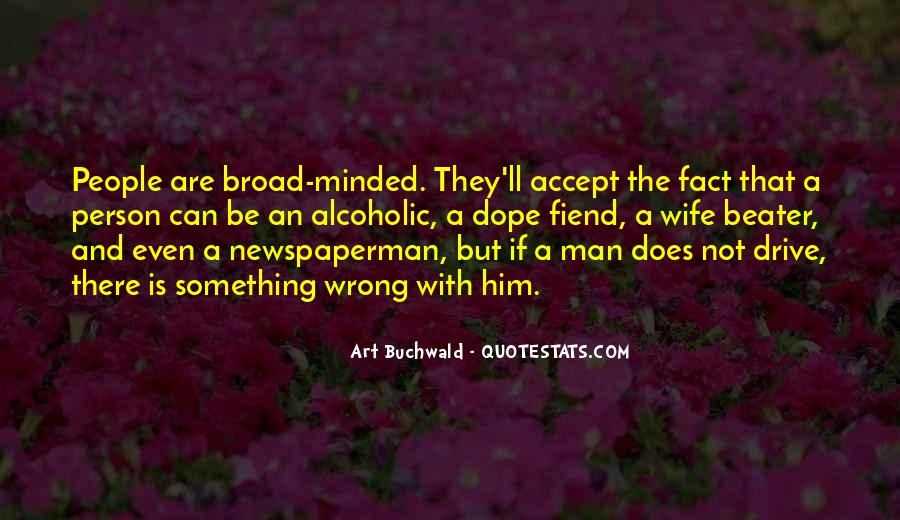 Broad Minded Person Quotes #66743