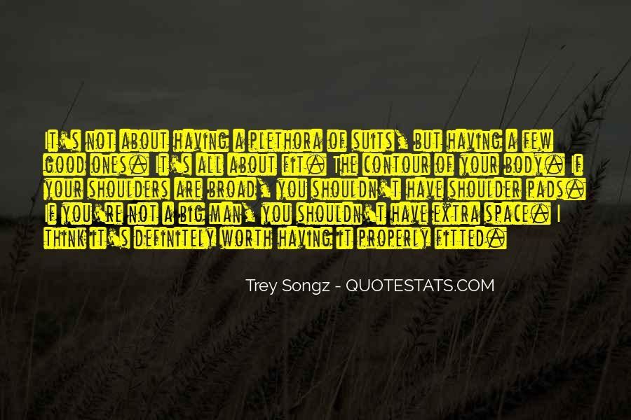 Broad Shoulder Quotes #588988