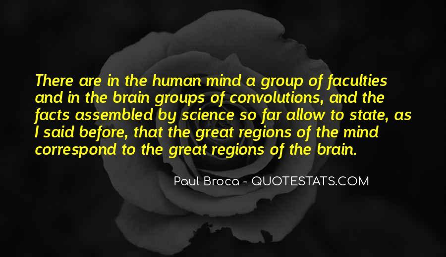 Broca Brain Quotes #707972