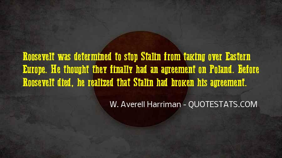 Broken Agreement Quotes #158613