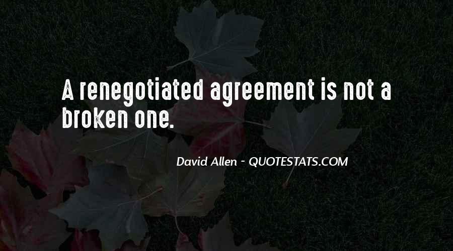 Broken Agreement Quotes #228074
