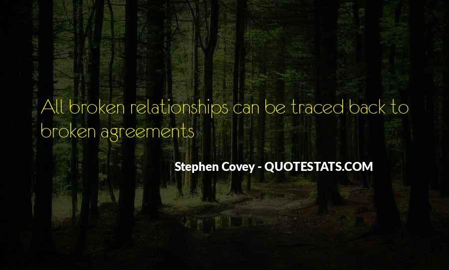 Broken Agreement Quotes #265137