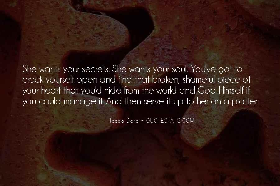 Broken Heart And Soul Quotes #1351220