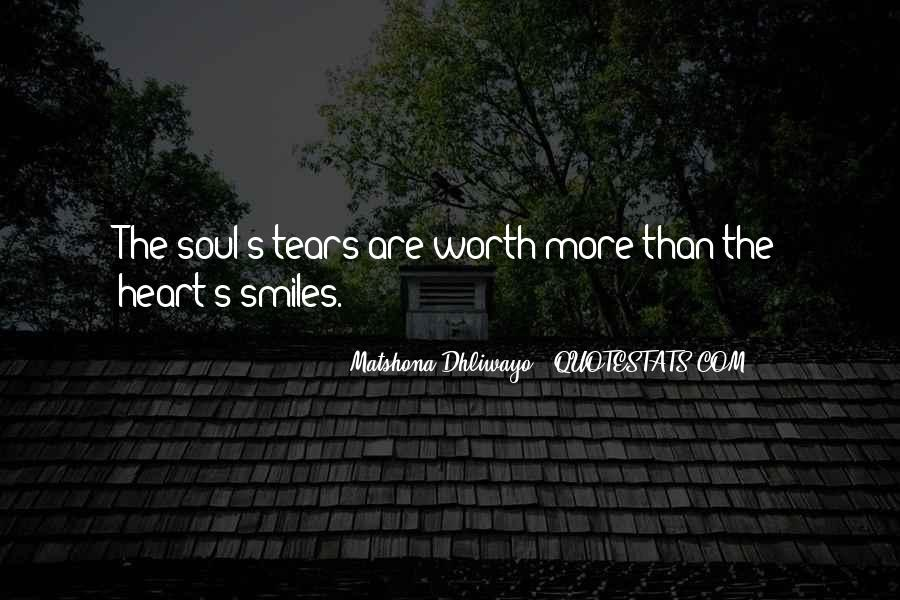Broken Heart And Soul Quotes #1662182