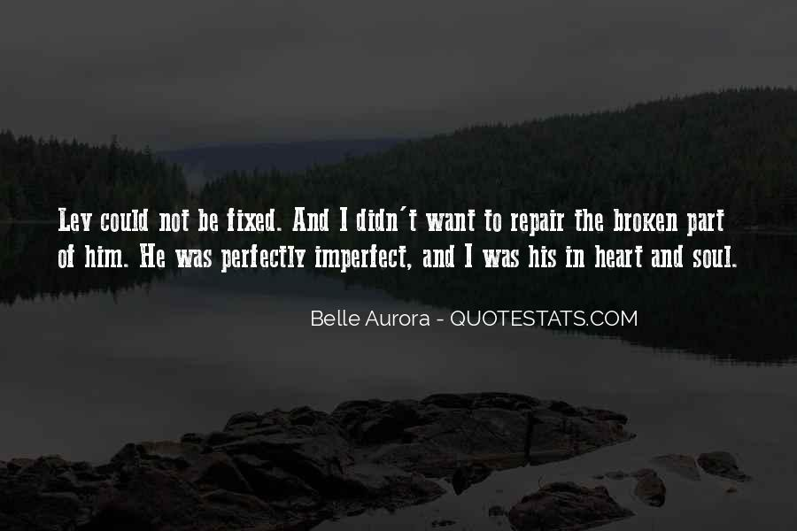 Broken Heart And Soul Quotes #692632