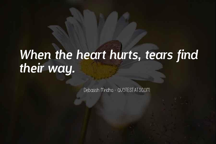 Broken Heart And Tears Quotes #99177
