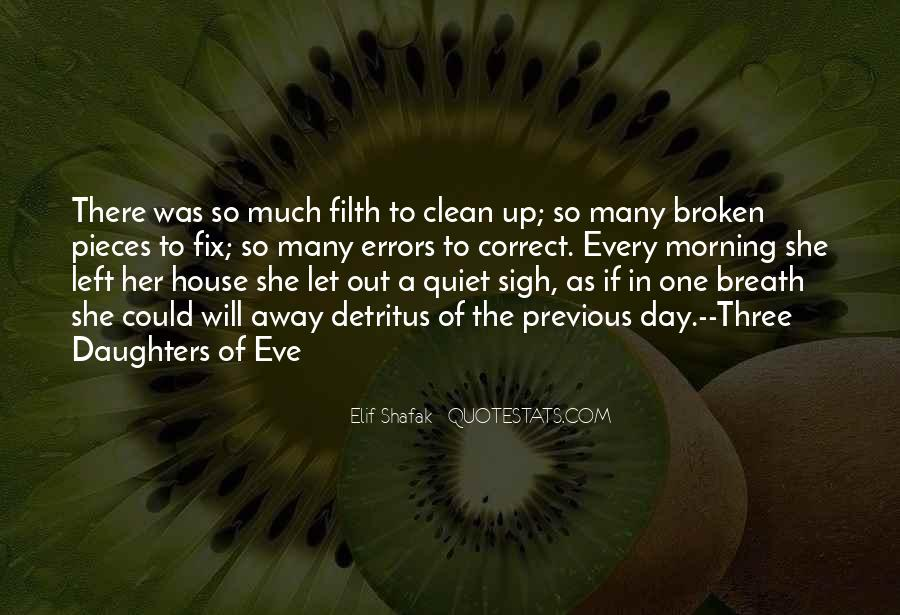 Broken Moving On Quotes #1006320