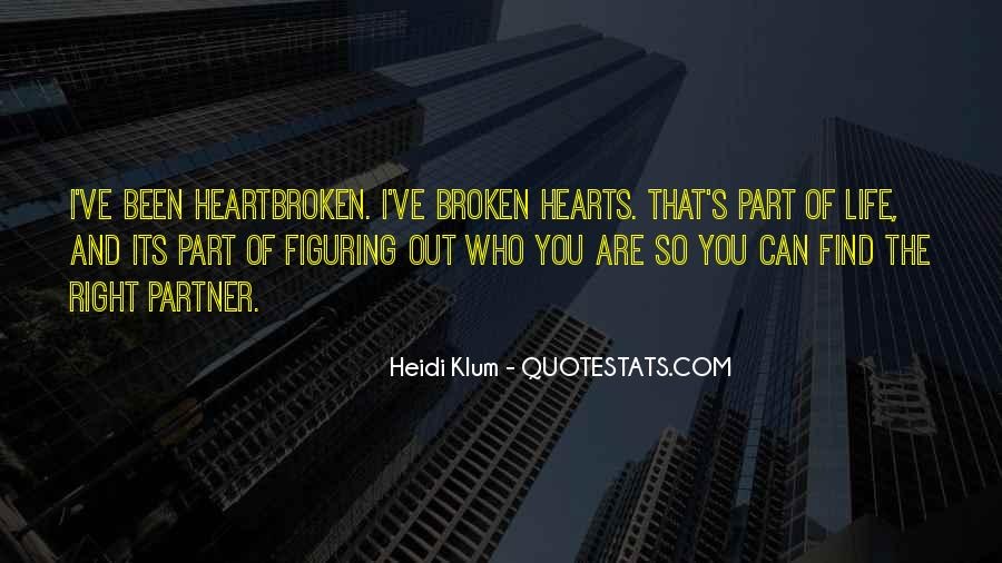 Broken Moving On Quotes #1203067